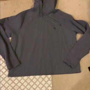 Grey Under Armour sweat shirt